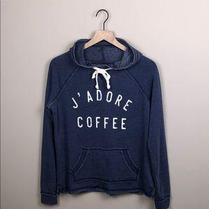 NWOT Grayson Threads J'Adore Coffee Hoodie (M)